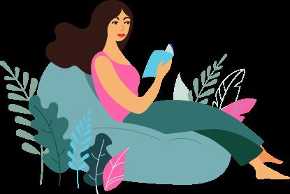 kobieta-książka