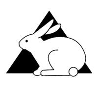 symbol nietestowane nazwierzętach